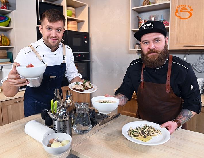 Два шефа, четыре руки, 24 рецепта: на «Кухня ТВ» стартует новое кулинарное шоу