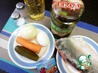 Рулет из горбуши с овощами и яйцом ингредиенты