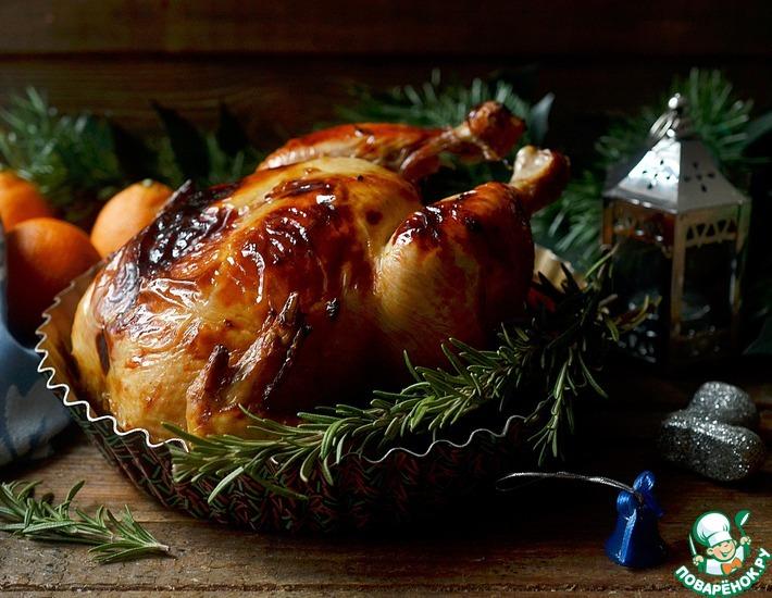Рецепт: Курица в глазури