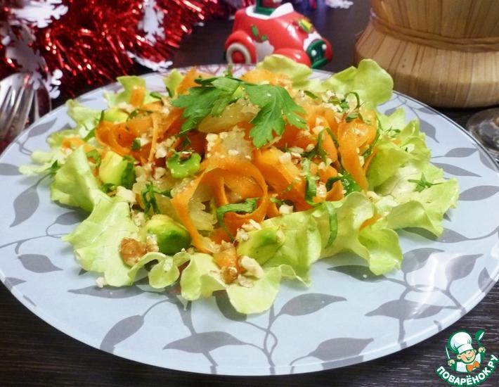 Рецепт: Замечательный салат из моркови