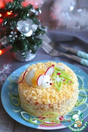 Веселых новогодних праздников вам, вашим родным и близким.      Приятного аппетита!