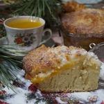 Тосканский пирог с кокосовым штрейзелем