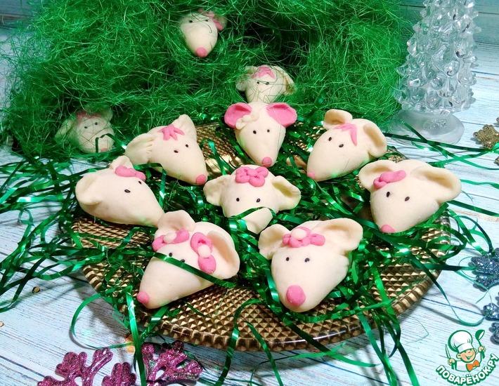 Рецепт: Немецкое песочное печенье Мышки