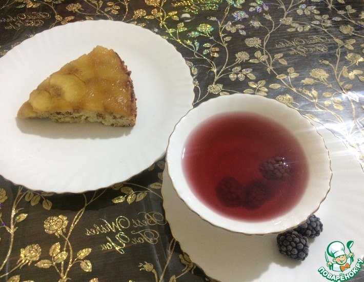 Рецепт: Напиток Шиповинка с ежевикой