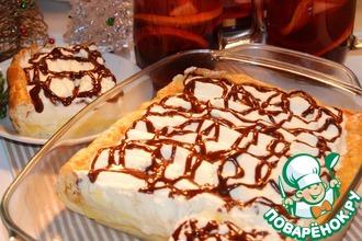 Рецепт: Торт Большой эклер