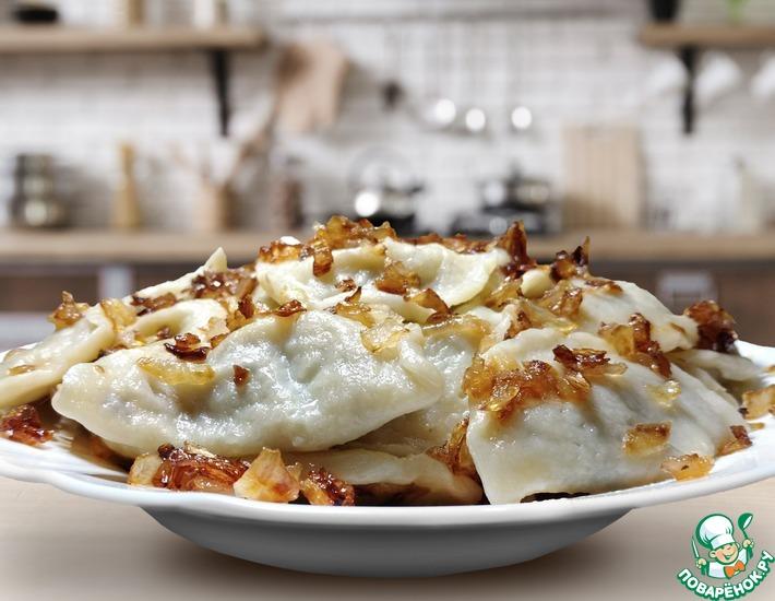 Рецепт: Эластичное тесто для вареников и пельменей