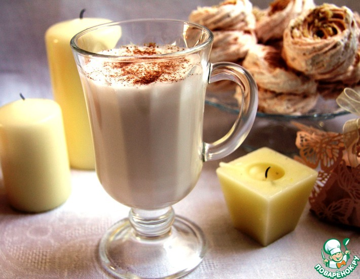Рецепт: Теплый молочный коктейль