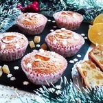 Кексы лимонные с цукатами