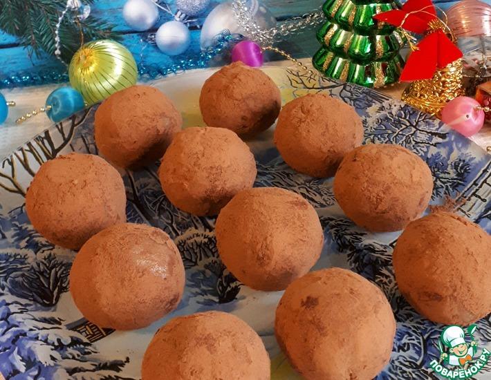 Рецепт: Пирожное Картошка со вкусом тирамису