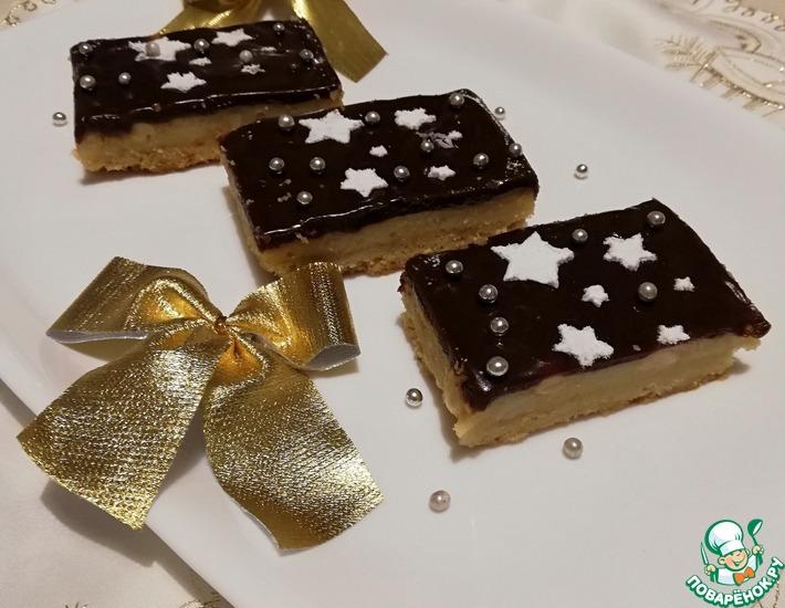 Рецепт: Пирожные Звездная ночь