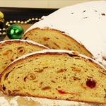 Рождественский сдобный хлеб