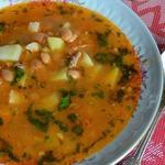 Суп с фасолью БыстрЕньКО