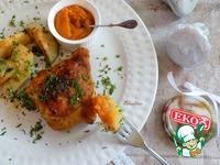 Запечённые куриные бёдра с ароматным картофелем ингредиенты