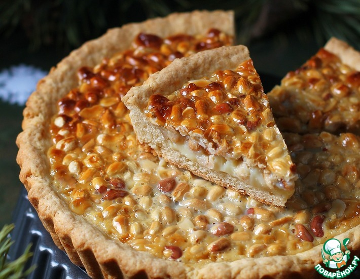 Торт с вареной сгущенкой и орехами » Рецепты приготовления блюд на ... | 550x710