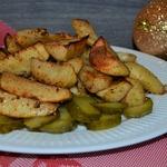 Картофель медово-горчичный