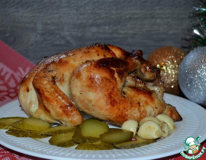 Рецепт: Курица медовая