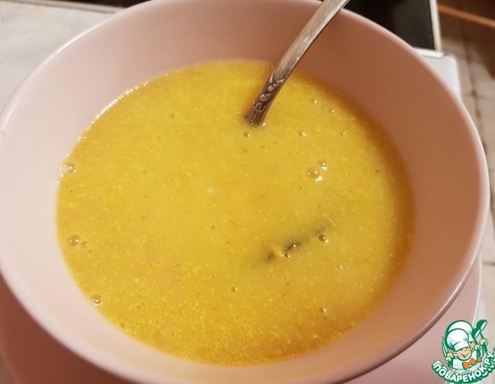 Рецепт: Картофельный суп-пюре