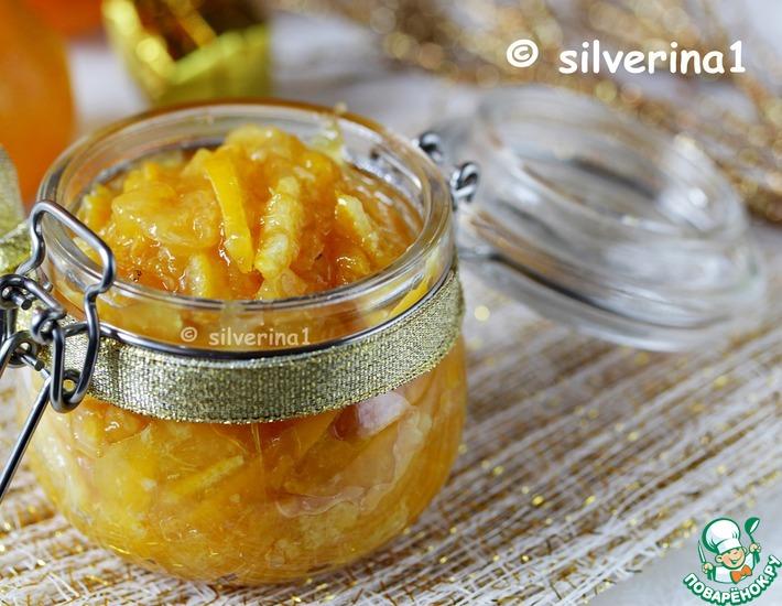 Рецепт: Быстрый мандариновый джем