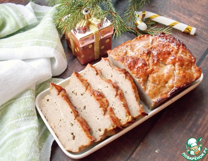 Рецепт: Мясной хлеб почти по-баварски