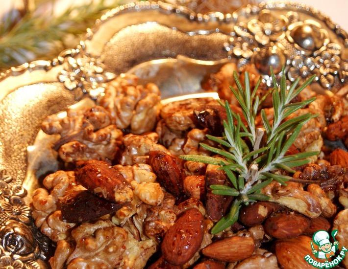 Пряные орехи с розмарином
