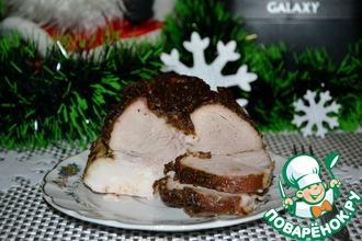 Рецепт: Свинина пикантная Праздничный эксклюзив