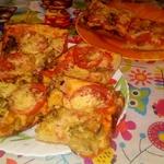 """Тонкая пицца """"Ужин охотника"""" – кулинарный рецепт"""