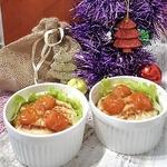 Порционный куриный террин с сюрпризом