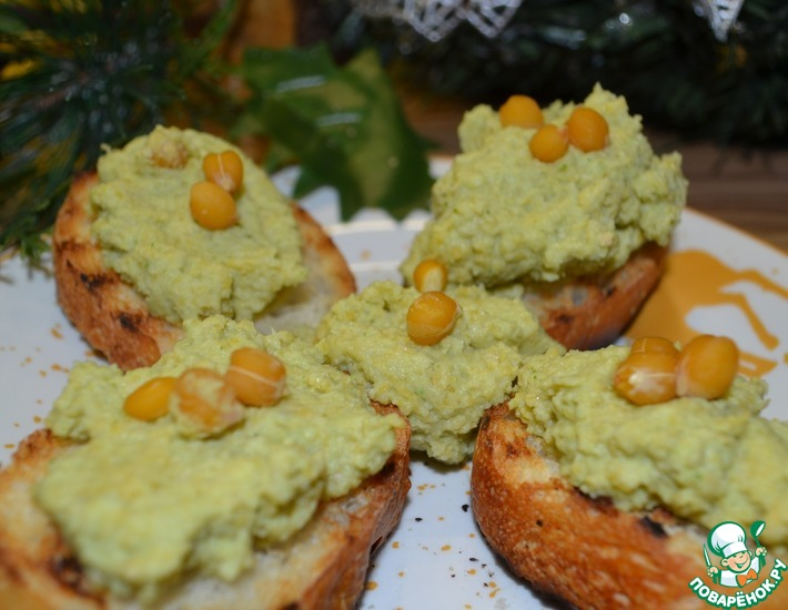 Рецепт: Хумус с брокколи
