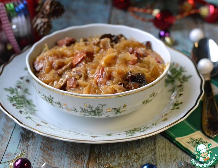 Рецепт: Словацкое национальное блюдо Капустница