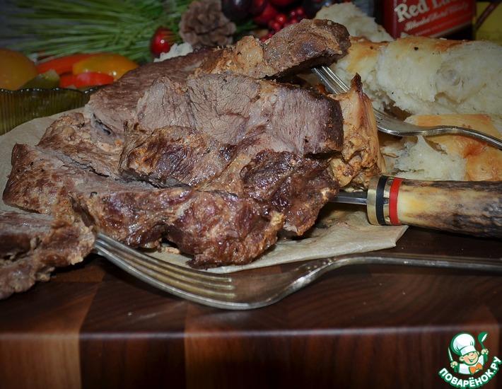 Рецепт: Сливочная телятина