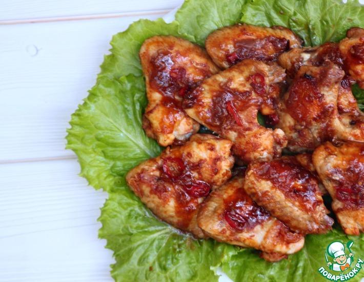 Рецепт: Куриные крылышки по-тайски