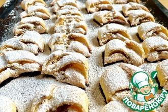 Рецепт: Венгерское ореховое печенье
