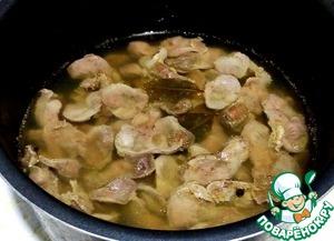 Сальтисон из куриных желудочков Субпродукты