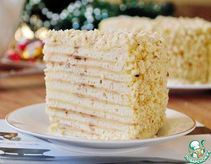 Рецепт: Торт Наполеон на сковороде
