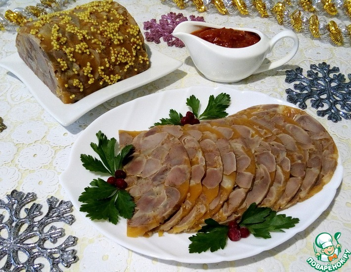 Рецепт: Сальтисон из куриных желудочков