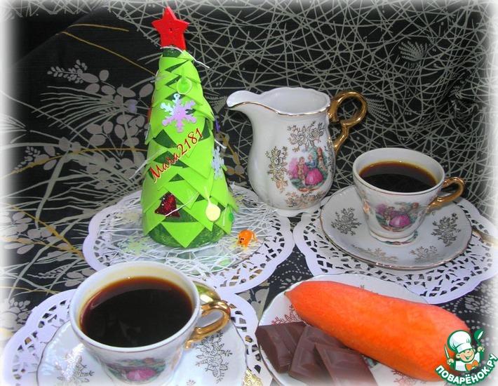 Рецепт: Кофе из моркови