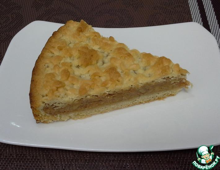 Рецепт: Пирог с вареной сгущенкой