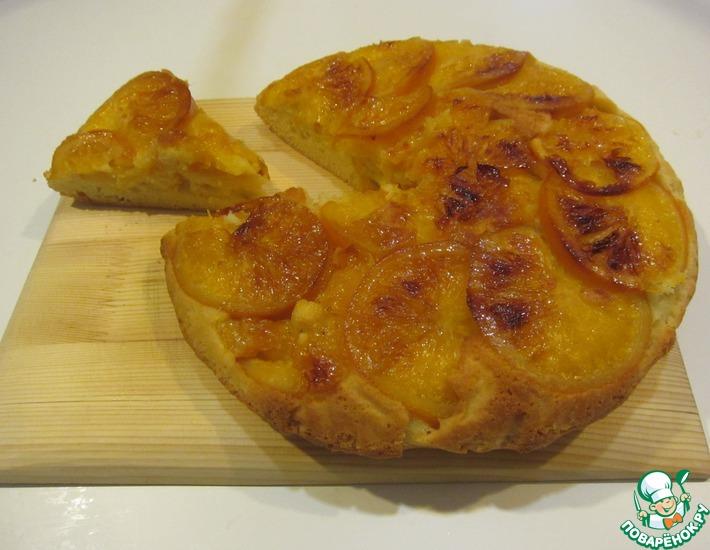 Рецепт: Пирог Оранжевое изумление