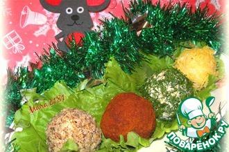 Рецепт: Салат-закуска Новогодние сокровища