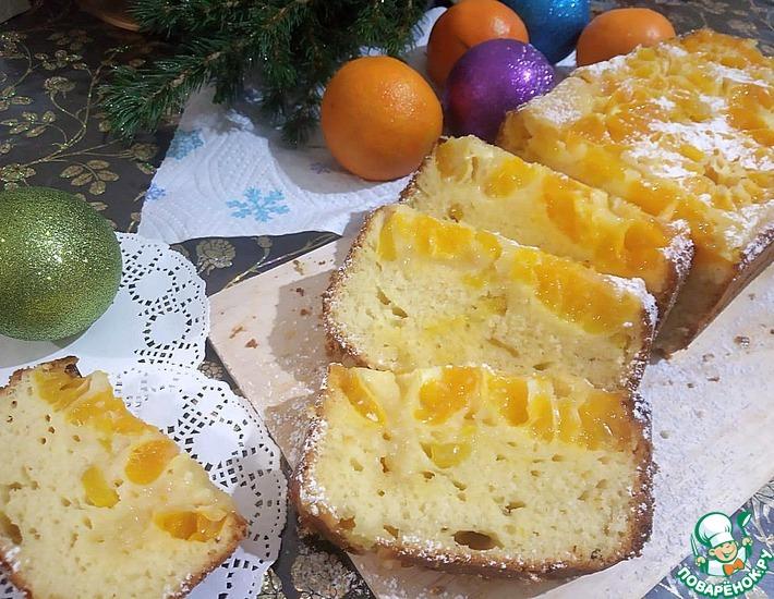 Рецепт: Пирог Мандариновый с манго