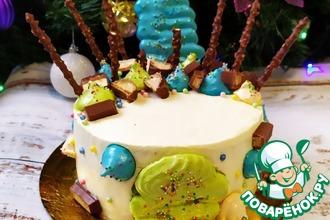 Рецепт: Торт Вкус тропиков