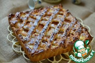 Рецепт: Абрикосово-творожный пирог