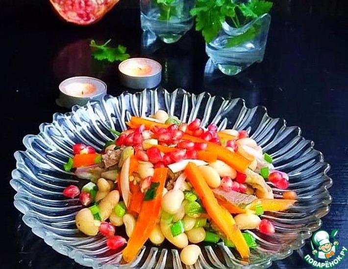 Рецепт: Салат «Кавказ»