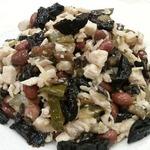 Куриный салат с фасолью и грибами