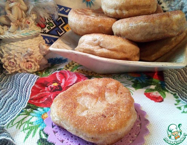 Рецепт: Жареные цельнозерновые пирожки