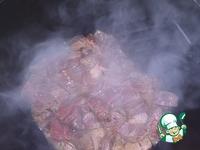 Лагман с олениной ингредиенты