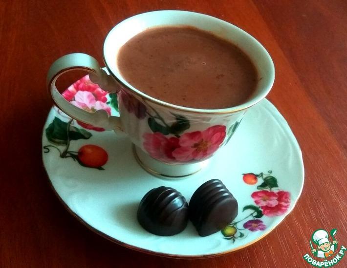 Рецепт: Кофейно-шоколадный кисель