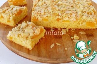 Рецепт: Штрейзельный пирог с персиками