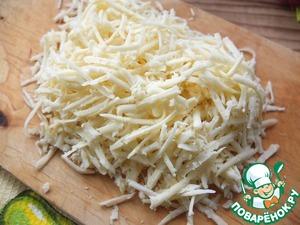 Картофельные лепешки с сыром Сметана