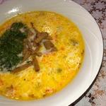 Сырный суп Принцесса на горошине